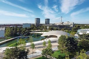 Porsche-Markenpavillon für die Autostadt Wolfsburg