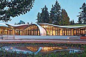 Besucherzentrum im Botanischen Garten in Vancouver