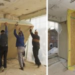 Energetische Fassadensanierung mit Holzrahmenbauelementen