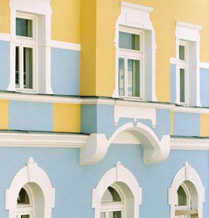 Farbgestaltung Fassade