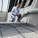 Das DIC-Heizkabel von AEG Haustechnik eignet sich für die erforderliche Heizleistung maßgeschneidert für jede Anwendung. Die Kunststoffstege aus dem Zubehör von AEG Haustechnik dienen als Abstandhalter und erleichtern die Klick-Montage maßgeblich.