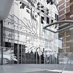Uzin WK 222 kann für dieVerkleidung von Wangen- und Stirnseiten, für Prall-wandbeläge oder andere Bodenbeläge an Wänden und Decken eingesetzt werden. Im Stedelijk Museum in Amsterdam wurde ein 31 m breiter und 14 m hoher Wandteppich zwischen Neu- und Altb