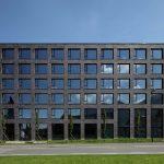 Vis-à-vis der Fachhochschule Dornbirn entstand auf einem ehemaligen Postgaragenareal in mehreren Baustufen der Campus Dornbirn – eine impulsgebende Plattform für Wirtschaft, Forschung und Kreative.