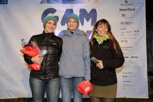 Snowboard Damen: v.l.: Britta Adelmann, Iris Wormsbächer, Anne Batisweiler