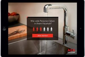 Neuer AEG Online-Warmwasser-Navigator, Kompetenzbroschüre  und Software-Tools