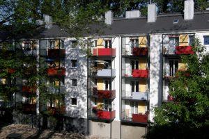 Energetische Sanierung von 284 Wohnungen in der Friedrich-Karl-Straße, Köln