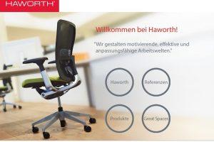 Die ganze Welt von Haworth - Immer up to date mit der kostenlosen Haworth App