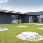 Das LAMILUX CI-System Glaselement FE in runder Ausführung: Ein ästhetisches Highlight für die moderne, energieeffiziente  Architektur.