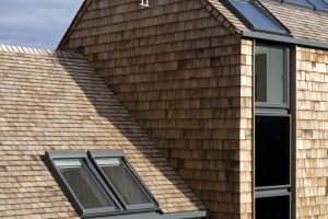 Die CarbonLight Homes in Rothwell in der englischen Grafschaft Northants sind der englische Beitrag zum europaweiten VELUX Experiment Model Home 2020, in dessen Rahmen das Unternehmen auf der Suche nach dem Bauen und Wohnen der Zukunft sechs Konzepthäuser