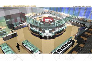 Kasino Dredner Bank Zentale in FFM