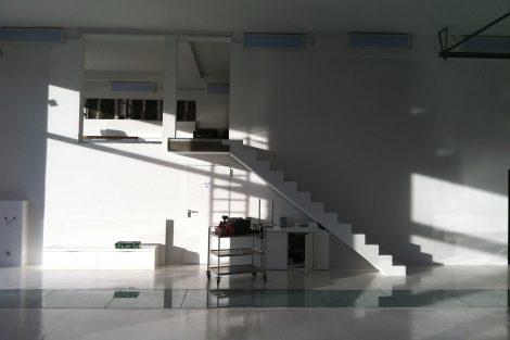 Umbau einer Brückenmeisterei in ein Fototstudio