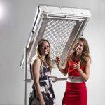"""Die beiden Niederländerinnen Iris van den Brink und Anneloes de Koff überzeugten die Jury mit ihrem Entwurf """"The Swipe"""" und erhielten den zweiten Platz."""