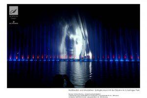 Multimedia-Brunnen