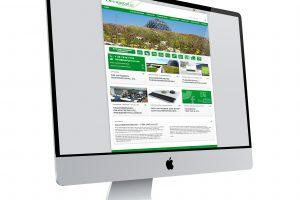 Internetauftritt zur Dach- und Fassadenbegrünung