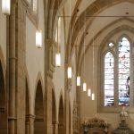 Klosterkirche Loccum Leuchten im Kirchenschiff