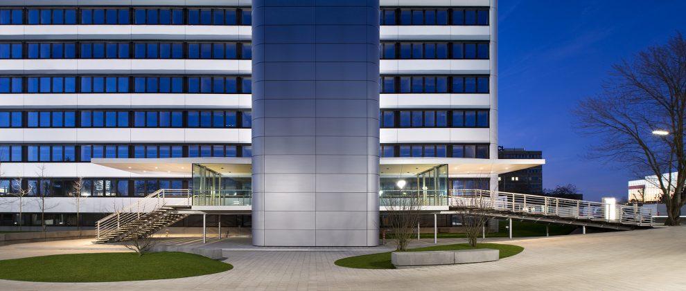 Bürogebäude Vogelsanger Weg, Düsseldorf, Revitalisierung