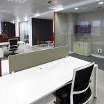 Actiu stattet Firmenzentrale von Iberia aus