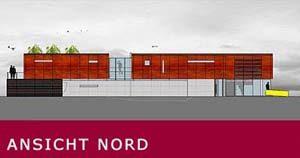 Neubau eines Büros mit Betriebsleiterwohnung – Meissenheim