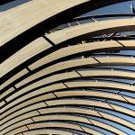Gewölbter Kuppelbau in Paris: