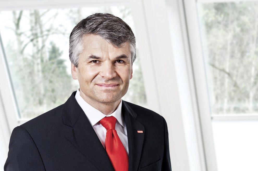 Dr. Sebastian Dresse, Geschäftsführer Velux Deutschland GmbH.