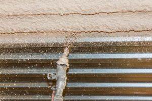 Knauf MP 75 L Fire verbessert den Brandschutz von Stützen und Trägern aus Beton oder Stahl, von Betondecken und  -wänden sowie von Trapezblechdecken mit Aufbeton. Selbst Stahl kann direkt verputzt werden.