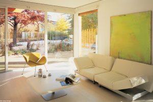 """""""Superwarmgläser"""" bieten effektive Wärmedämmung, hohe Tageslichttransmission, solare Energiegewinne."""