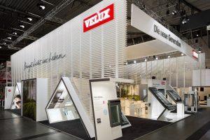 Velux präsentiert seine Produkte auf der BAU 2015 auf insgesamt über 440 m² Ausstellungsfläche.