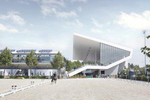 Erweiterung Dressurstadion, Aachen
