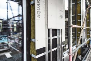 Die vorgehängte hinterlüftete Fassade vervollständigt seit Februar 2014 das Angebot der Knauf Außenwand mit AQUAPANEL® Technologie.
