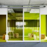 Meetingboxen im Open Space