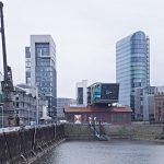 Hochhaus DOCK 2 am Medienhafen