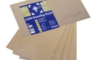 Mit UZIN RenoTop PLUS hat der Verarbeiter die Möglichkeit, einen direkt belastbaren und belegreifen Unterboden ohne allzu große Lärm- und Staubbelastungen herzustellen.