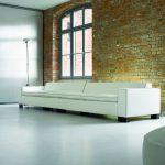 Der Klassiker skai® Sotega FLS veredelt mühelos exklusive Wohnwelten wie dieses Loft.