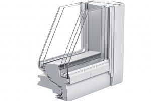 Das Velux Integra Solarfenster für Passivhäuser verfügt über eine 5-fach-Verglasung: 3-fach auf der Außenseite und 2-fach auf der Innenseite.