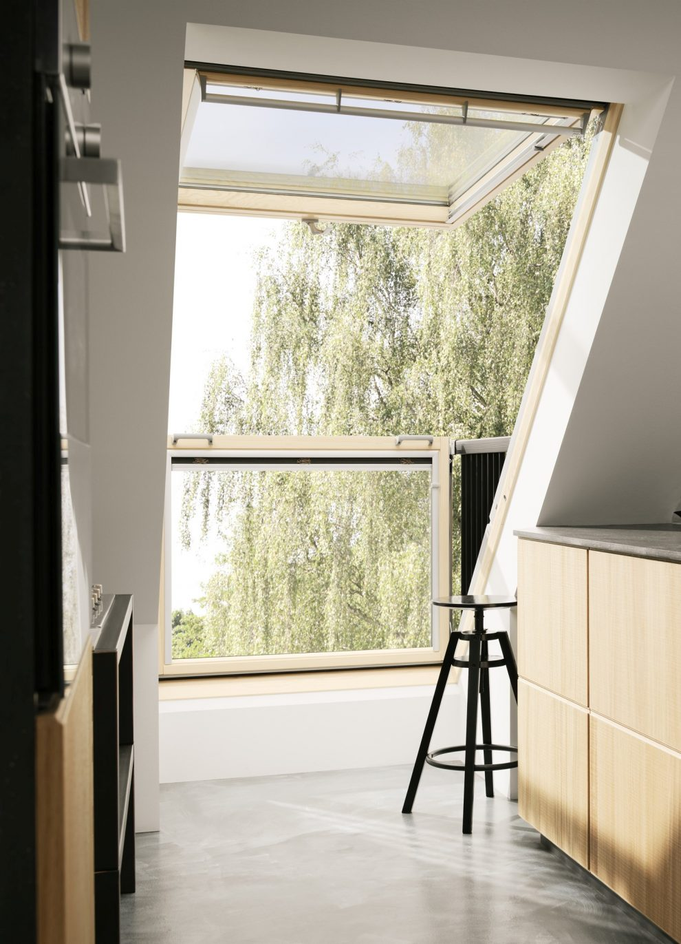 velux deutschland gmbh cabrio dachfenster eröffnet dachgeschoss