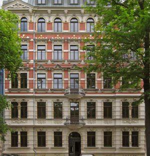 Umbau und Sanierung eines denkmalgeschützten Mehrfamilienhauses in Leipzig