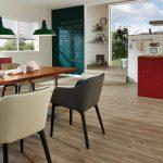 skai® Soroma EN verleiht auch modernen Sitzmöbeln Stil und Klasse.