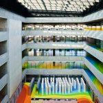 Technische Nationalbibliothek in Prag: Markantes Farbkonzept