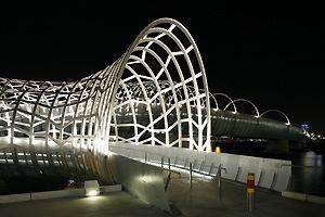 Webb Bridge, Melbourne, Australien