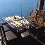"""Die Stühle im Restaurant """"Maya & Inca"""" sind mit skai® Sopythana FLS ausgestattet. In dem charmanten Restaurant werden täglich bis zu tausend Gäste bewirtet, daher ist eine hohe Strapazierfähigkeit der Materialien gefordert."""