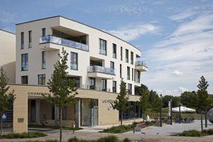 Wohn- und Geschäftshaus, Büroadresse ARC Magdeburg