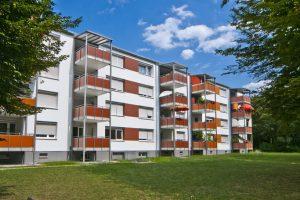 Mehrfamilienhäuser mit Knauf WARM-WAND gedämmt
