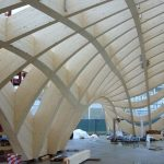 KNAPP-Verbinder tragen die Gewölbe des französischen EXPO-Pavillons