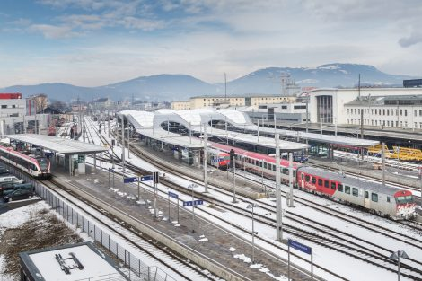 Graz Hauptbahnhof 2020