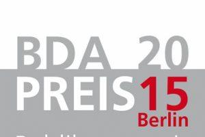 BDA-Preis Berlin 2015