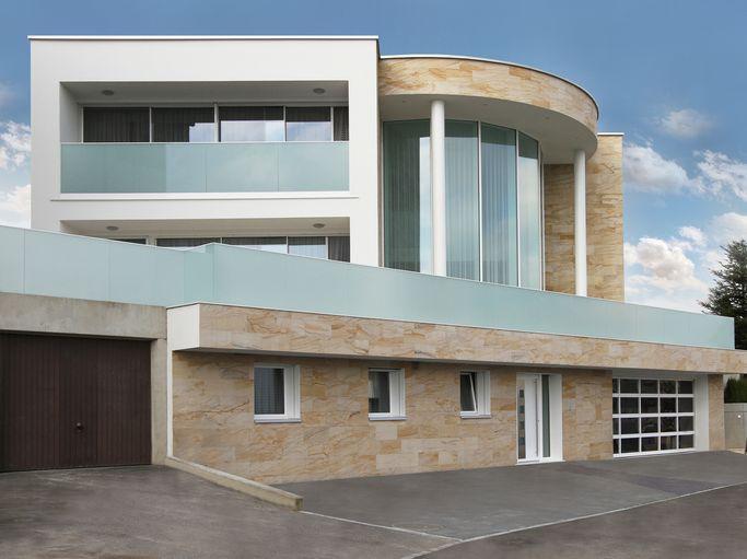Ein Haus als Schaufenster