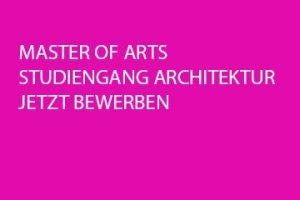 Masterstudiengang Architektur an der Fachhochschule Köln