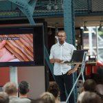 Hannes Bäuerle von raumprobe entführte in die Welt der Materialien
