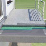Trittschall auf Dachterrassen und Balkonen