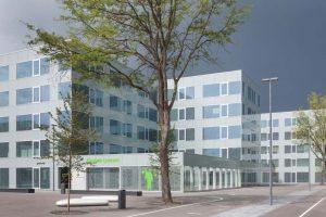 """Neu entwickeltes """"Arets-Glas"""" für Campus Hoogvliet in Rotterdam"""